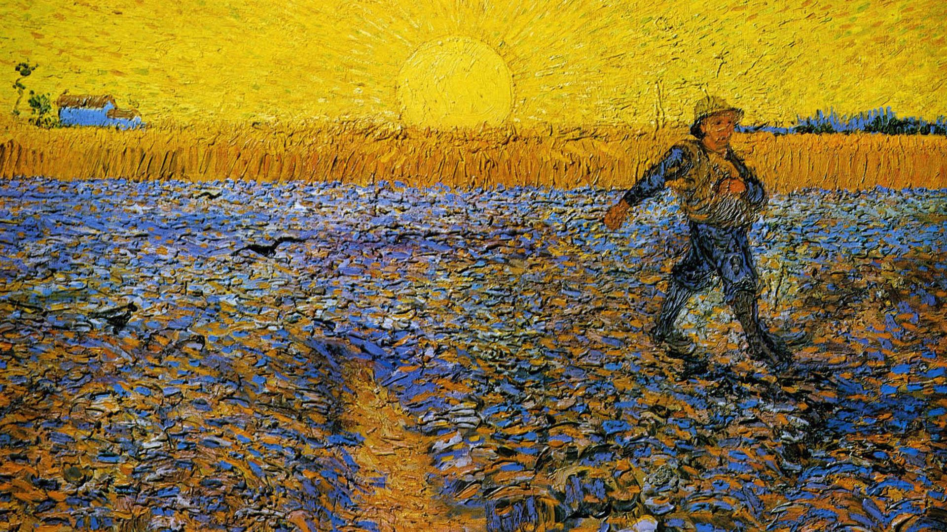 Illustratie: Vincent van Gogh  |  de Zaaier